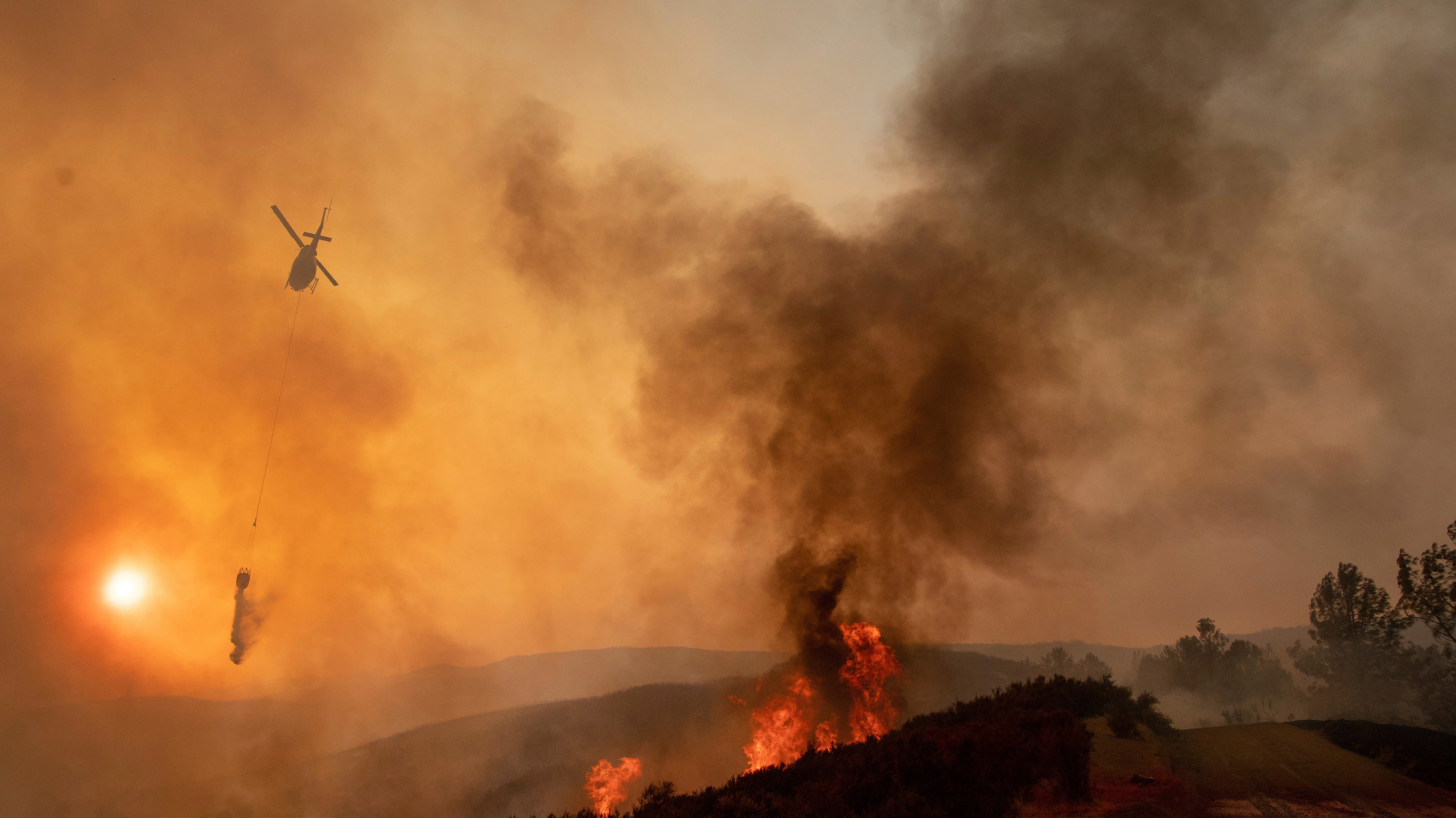 California's Bushfires Are Creating An Air Pollution Nightmare