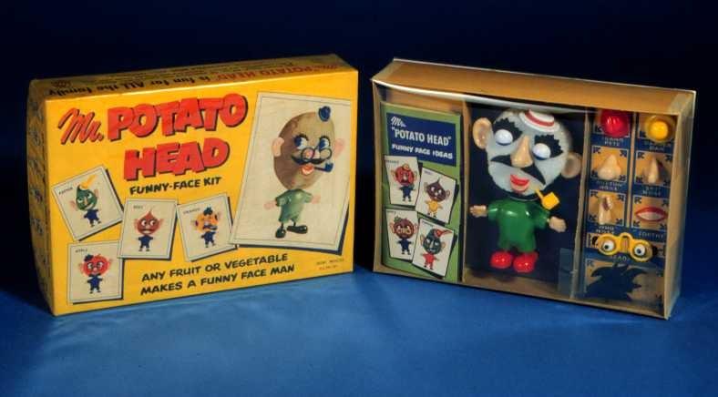 Mr. Potato Head was originally BYOP (Bring Your Own Potato)