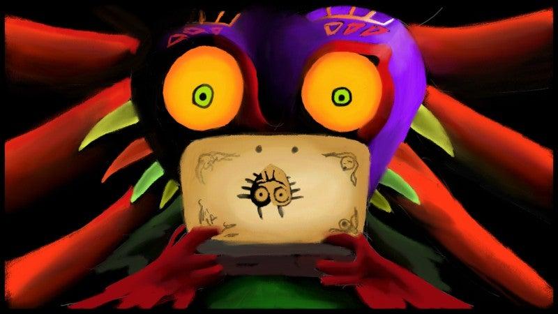 Miiverse Is Full Of Great Majora's Mask Fan Art