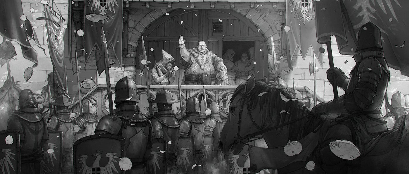 The Beautiful Sketches Behind The Witcher 3's Ending