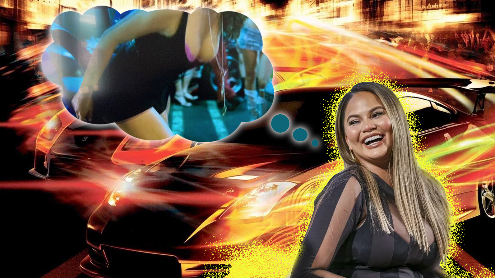 Chrissy Teigen Reveals That Some Of Her Had An Uncredited Role In The Fast And Furious: Tokyo Drift