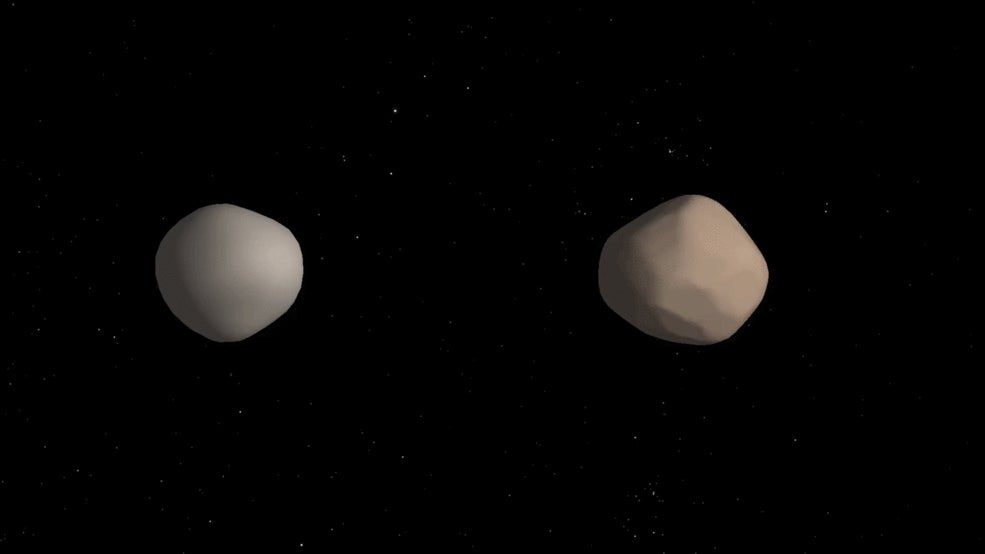 asteroids astronomy binary-asteroids double-asteroids
