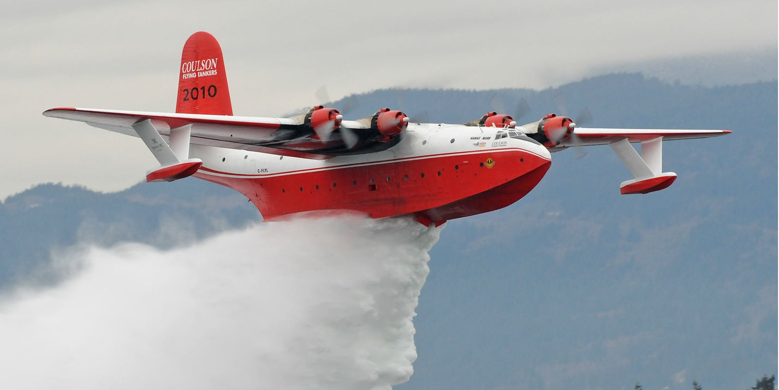 This Whale of a Flying Boat Used to Fight Nazis, Now It Fights Fires