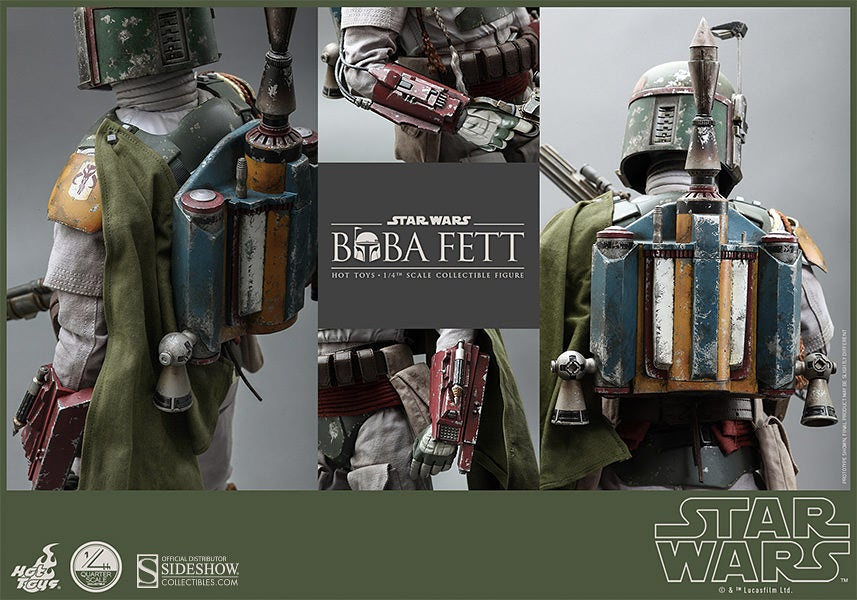 This Giant Quarter-Scale Boba Fett Is As Detailed As Figures Get