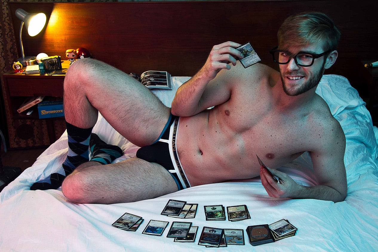 The Sexy Nerd Project Flips the Script and Objectifies Male Heroes