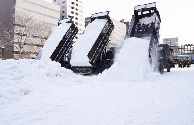 The Japanese Military Is Great at Snow Sculptures
