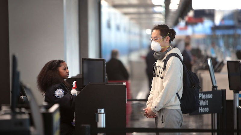 In Bid To Make Passengers Feel Safer, TSA Prepares To Screen Temperatures At Airports
