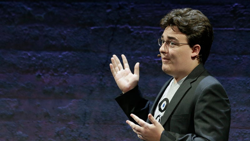 Oculus Founder Palmer Luckey Has A 'Patriotic' Plan To Disrupt The Military-Industrial Complex With VR