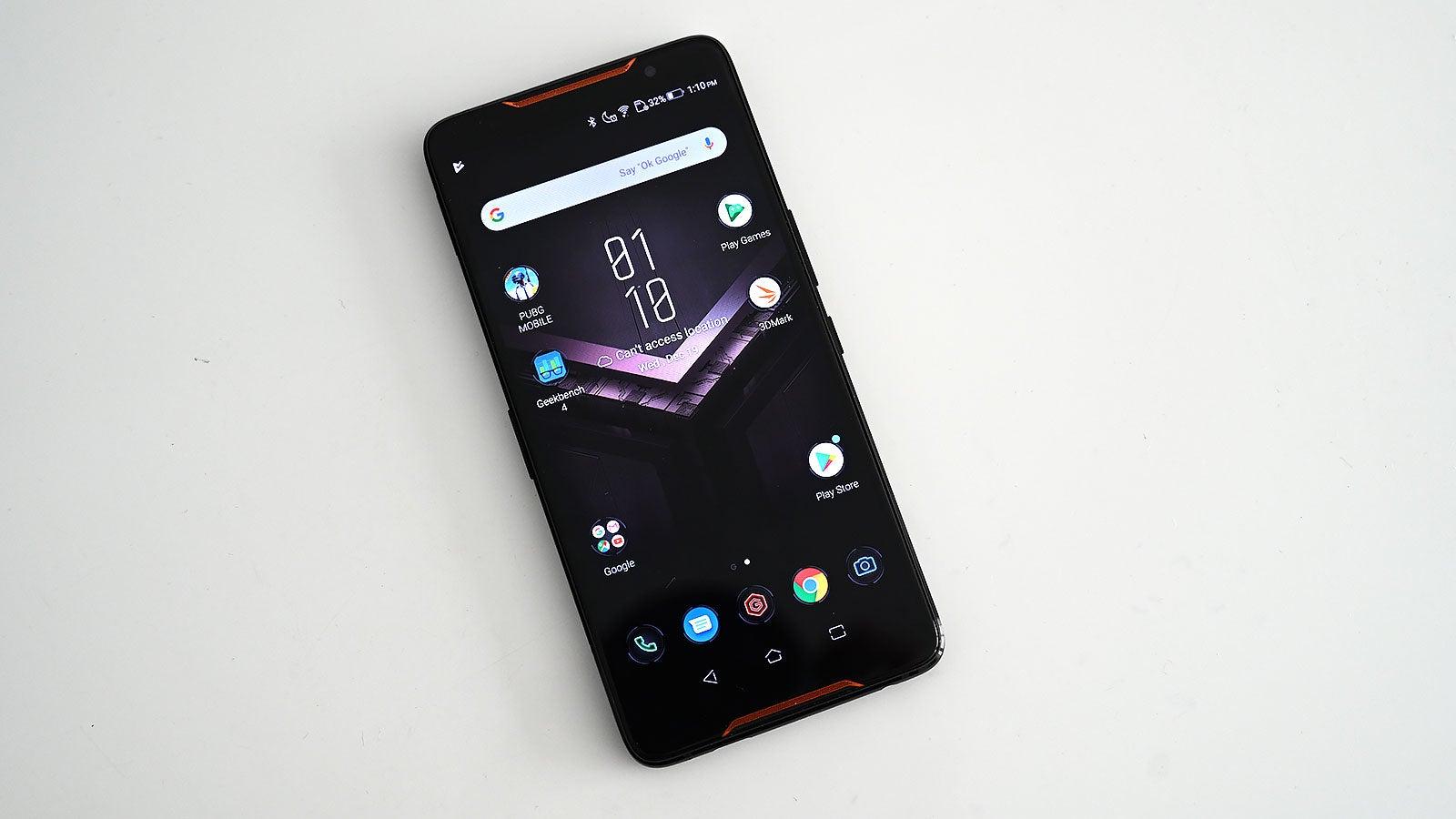 Asus' ROG Phone Is The Dumb Fun RGB Handset Gamers Deserve