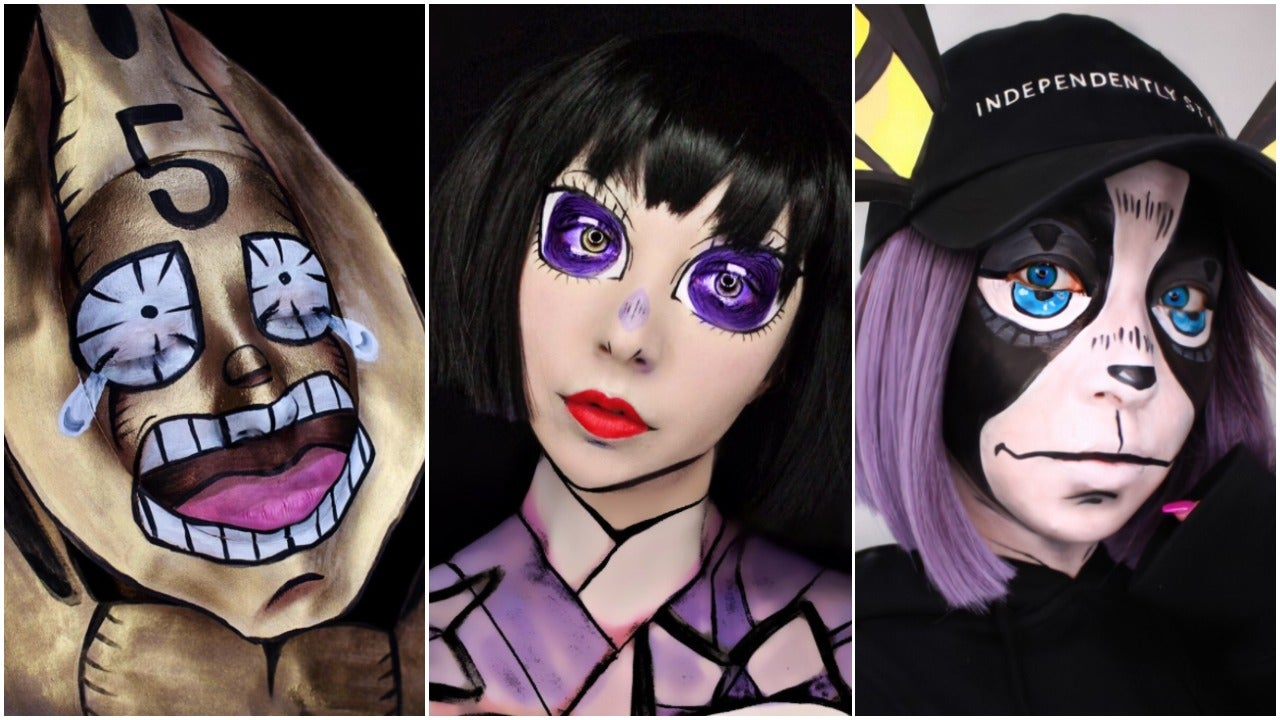 And Now For Some Excellent Anime Make-Up