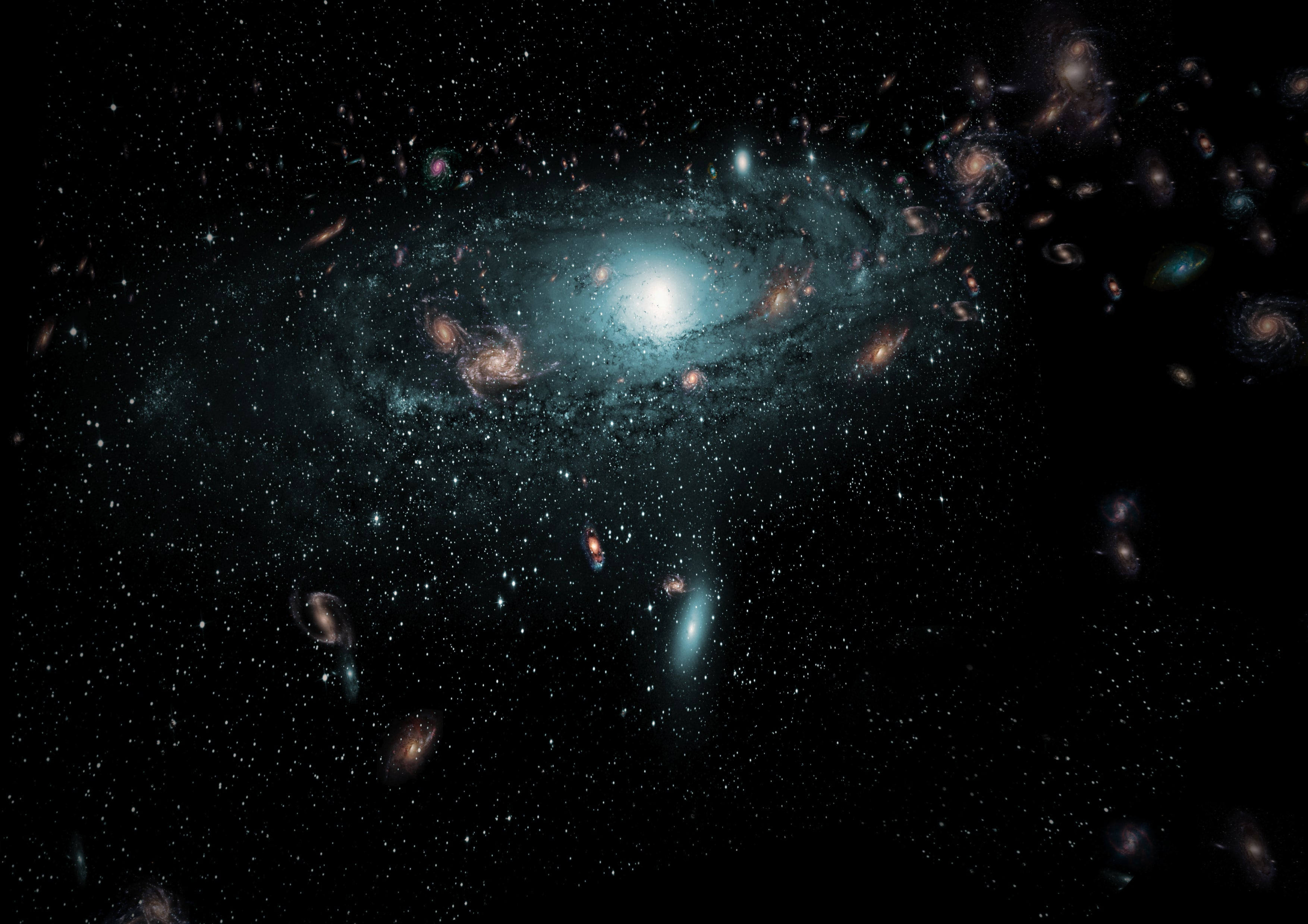 Researchers Just Discovered Hundreds of Galaxies Hidden Behind the Milky Way