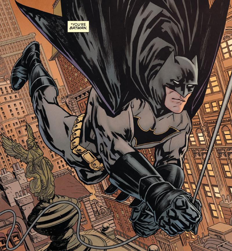 Bruce Wayne Is Back as Batman, Better Than Ever