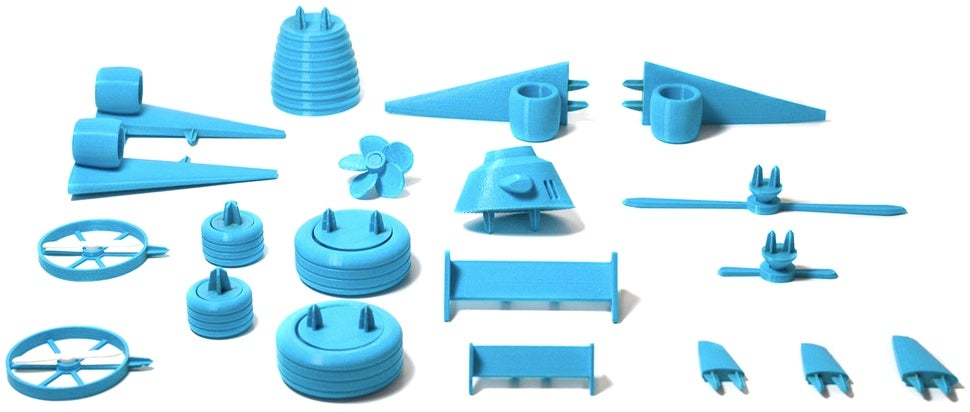 3D-Printed Toy Parts Will Finally Make Kids Love Fruits and Vegetables