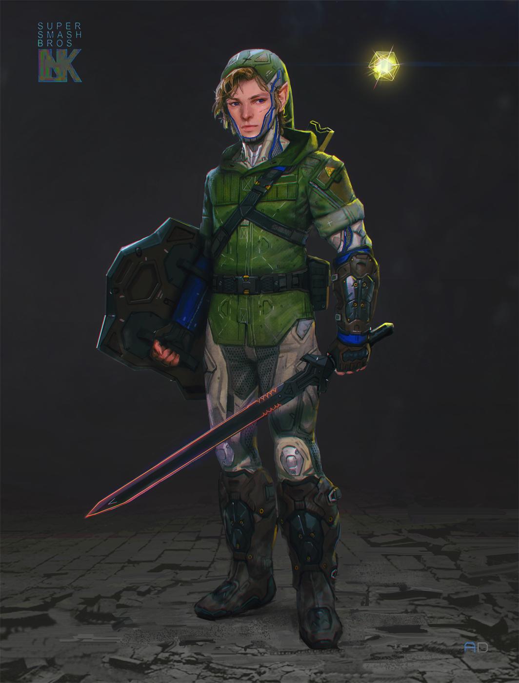 Gears Of War Studio Artist Imagines A More Metal Super Smash Bros.