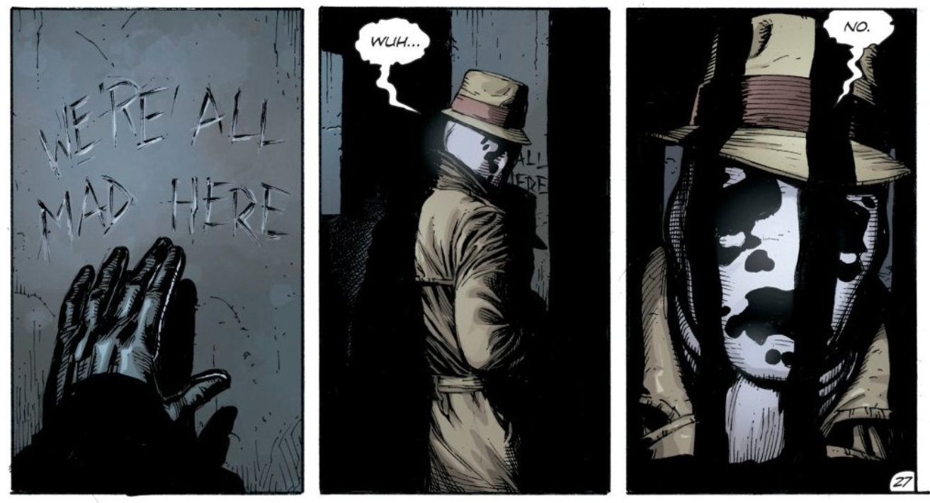Doomsday Clock Reveals Exactly Who's Been Wearing Rorschach's Mask And Why