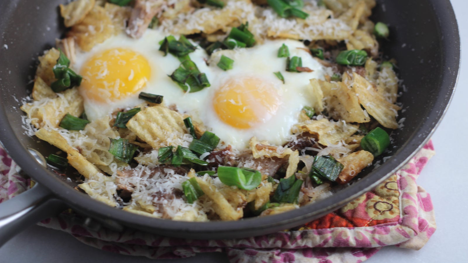 You Need To Add Potato Chips To Your Eggs