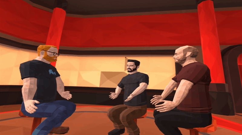 The First VR Talk Show Is Awkward And Amazing