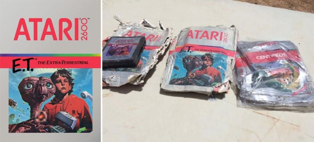 Those Excavated E. T. Video Game Cartridges Are Being Auctioned Off