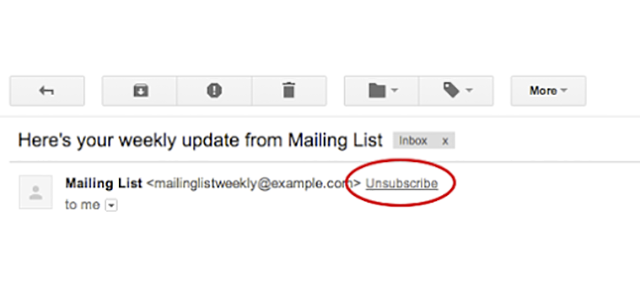 Gmail Just Made Unsubscribing From Bulk Emails Easier Than Ever