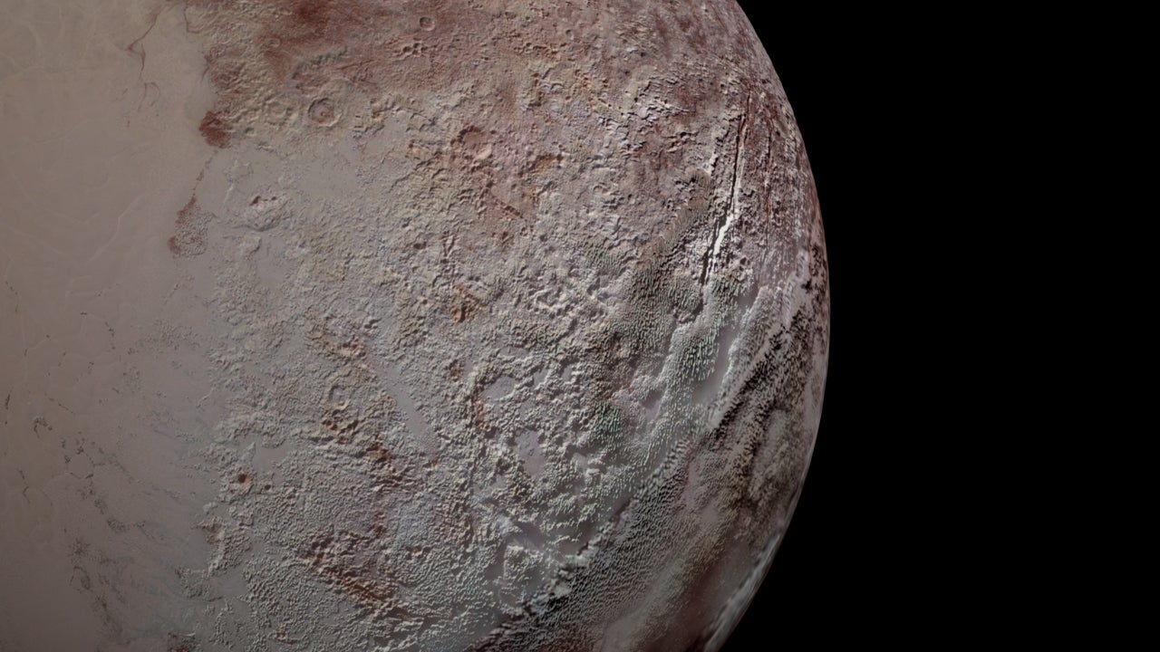 Decoded! Climate change responsible Pluto's 'bladed terrain', composed largely of methane ice