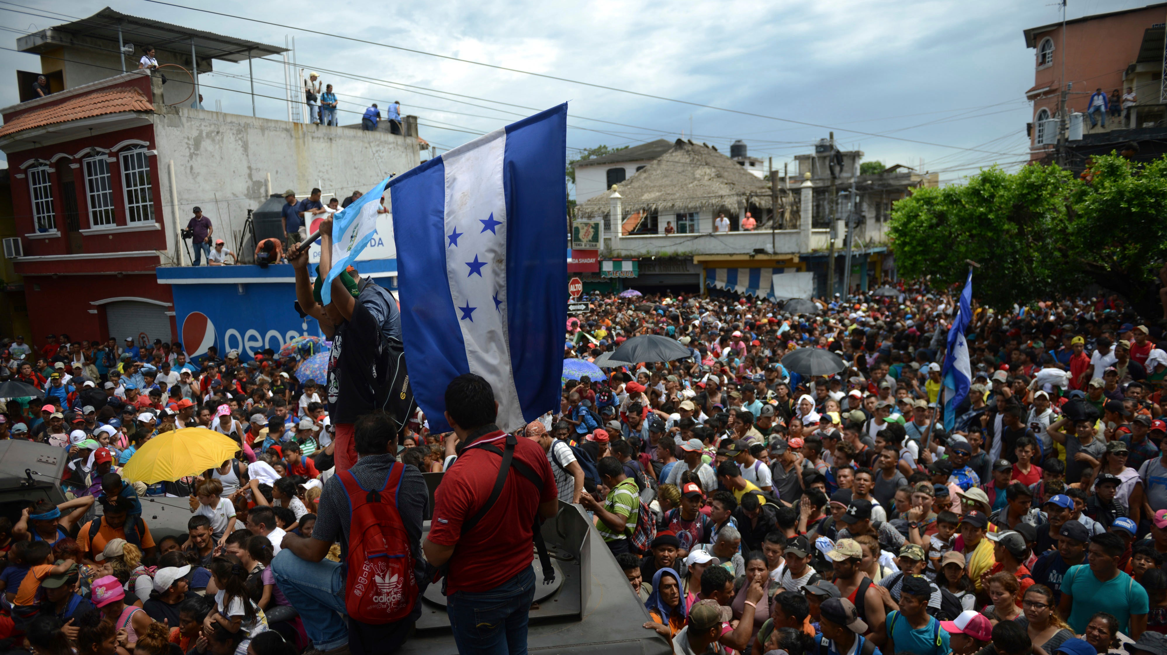 The Migrant Caravan's Plight Is A Glimpse Of Our Coming Climate Crisis