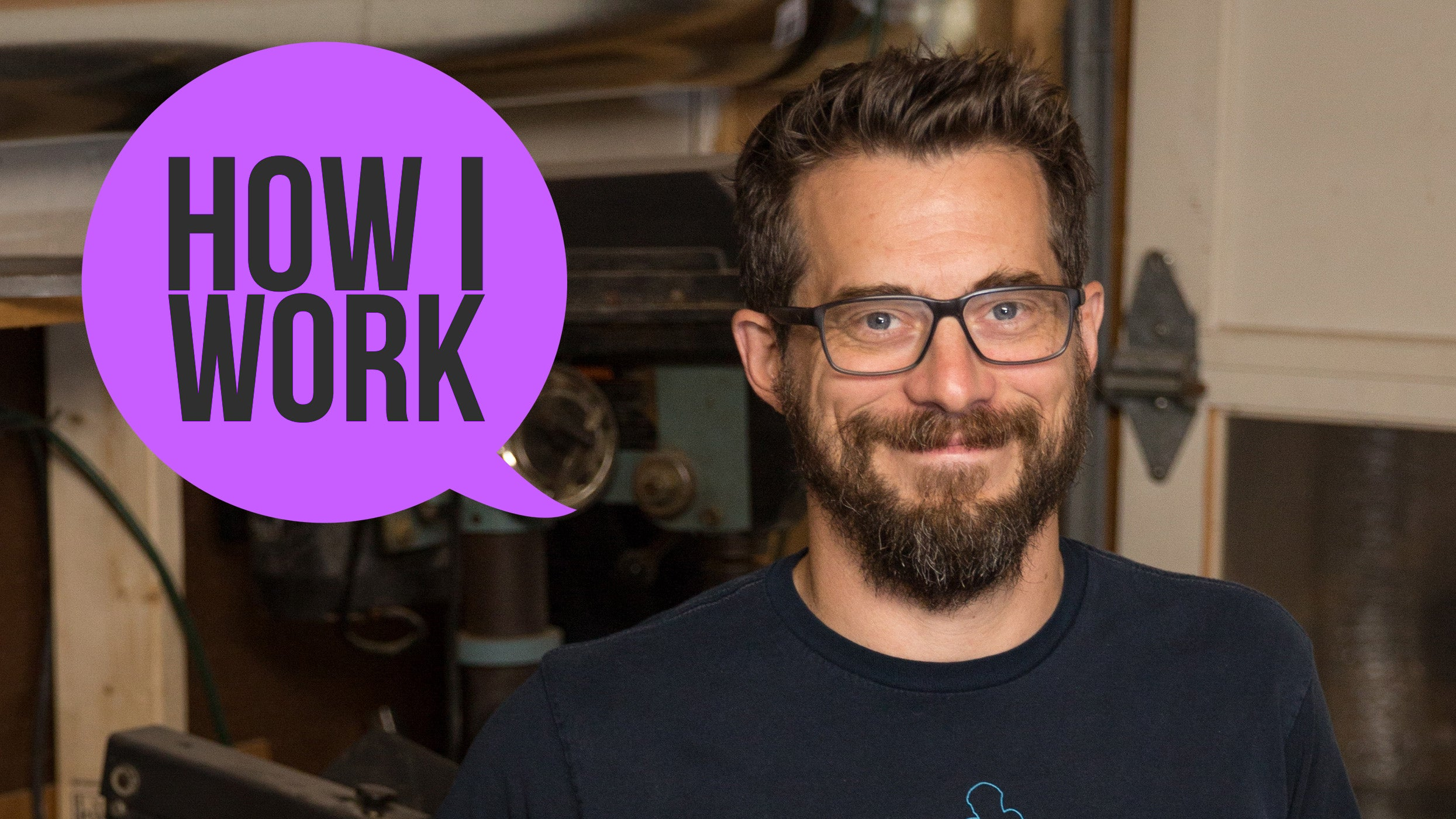 I'm 'I Like To Make Stuff' Host Bob Clagett, And This Is How I Work