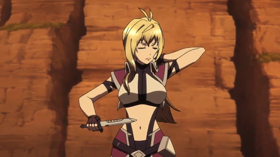 Cross Ange is an Anime that Goes From Abhorrent to Enjoyable