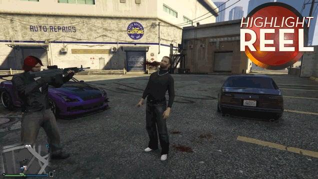 Damn, That GTA Mugger Is Bulletproof