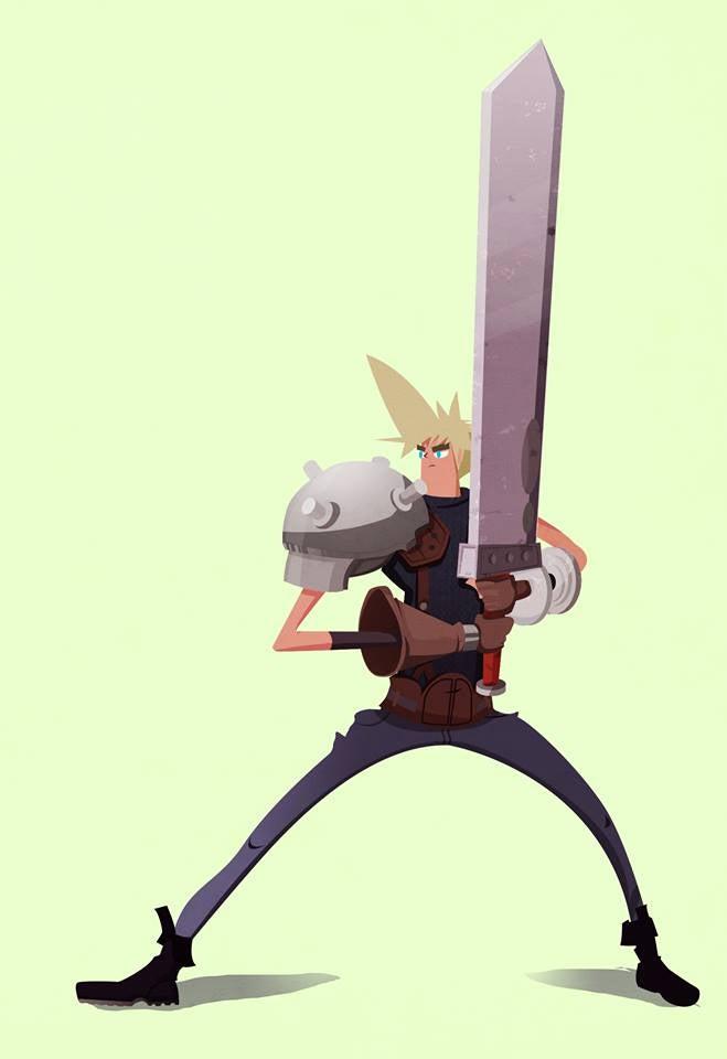 Final Fantasy VII, Redesigned
