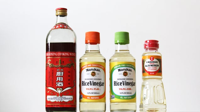Rice Wine, Rice Wine Vinegar, Rice Vinegar: What's the Difference?