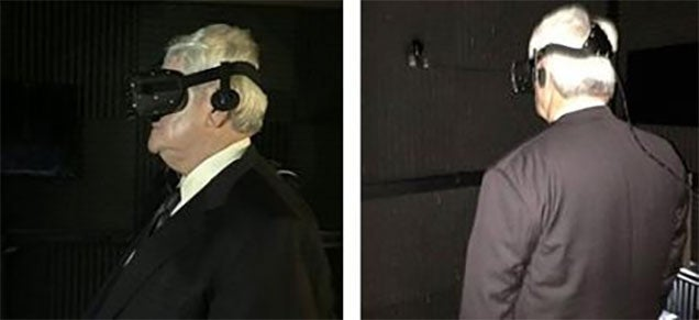 Newt Gingrich Wearing Oculus Rift Looks Like A Caption Contest