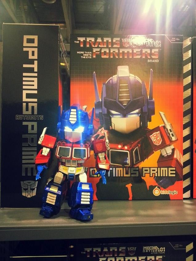Now, Here Is How You Celebrate Transformers