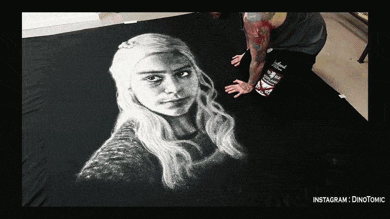 A Salt Portrait of Daenerys Targaryen