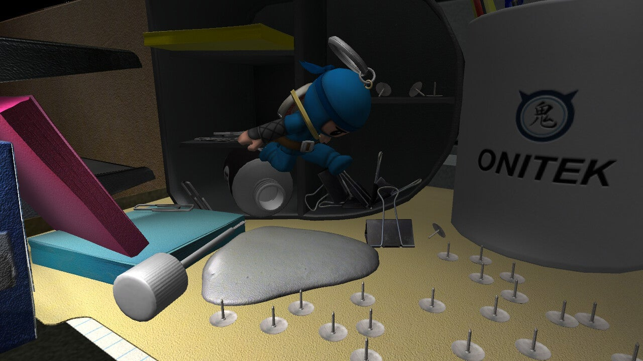 A Toy Story-Like Survival Game Where You're a Keychain Ninja