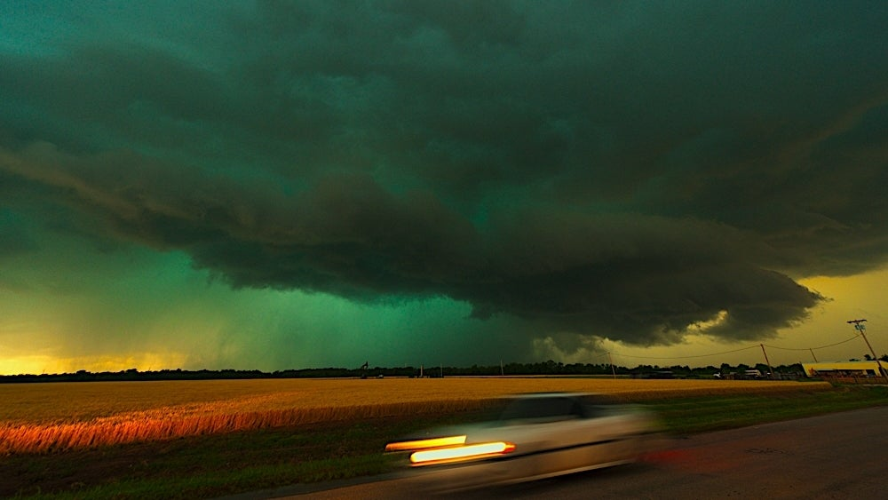 If You See Green Storm Clouds, Prepare For The Worst