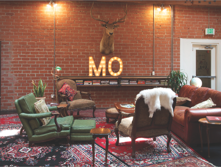 The Open, Communal Office Behind the Movember Movement