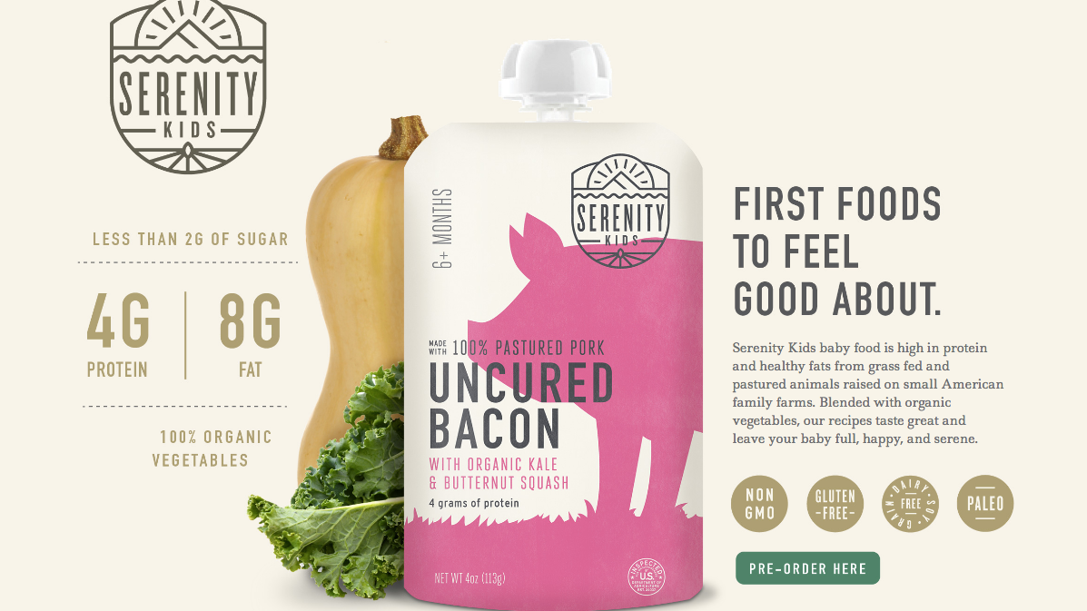 Um, You Can Now Buy The Paleo Diet In A Bottle For Babies
