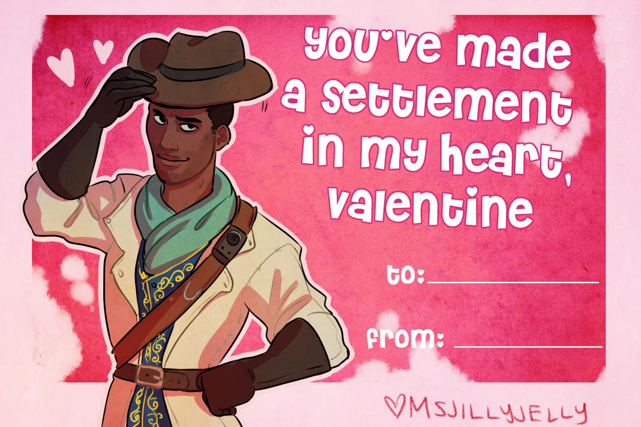 Fallout 4, You Valentine's Day Sweetheart