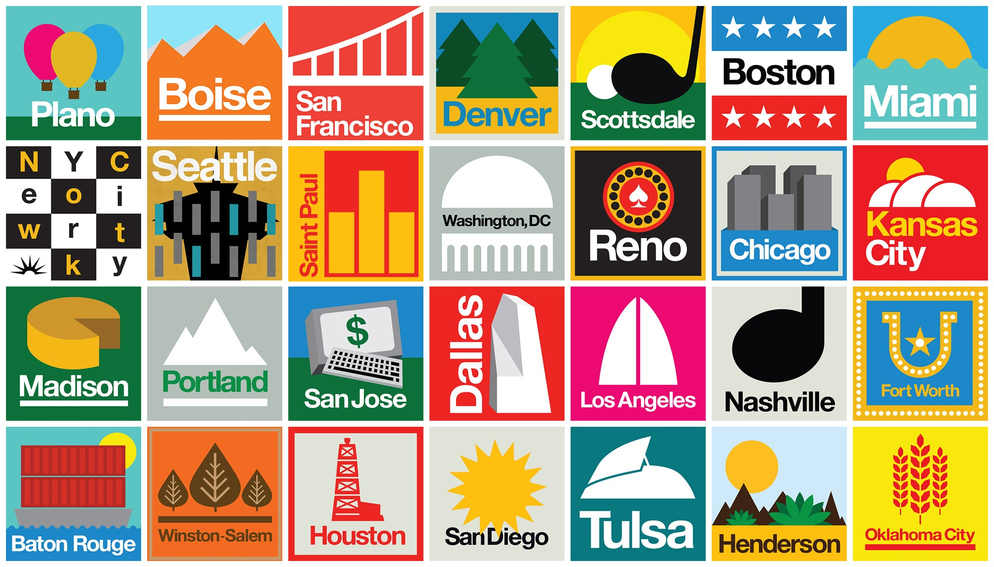 The Best U.S. Cities for People 35 and Under