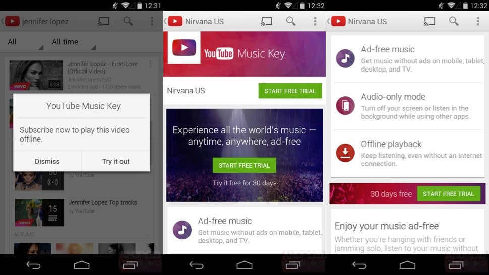 Report: YouTube Music Key Will Bring Offline Playback For $US10 A Month