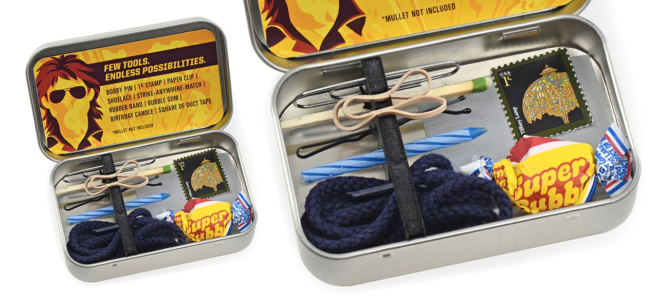This Tiny Macgyver Emergency Toolkit Will Get You Out Of