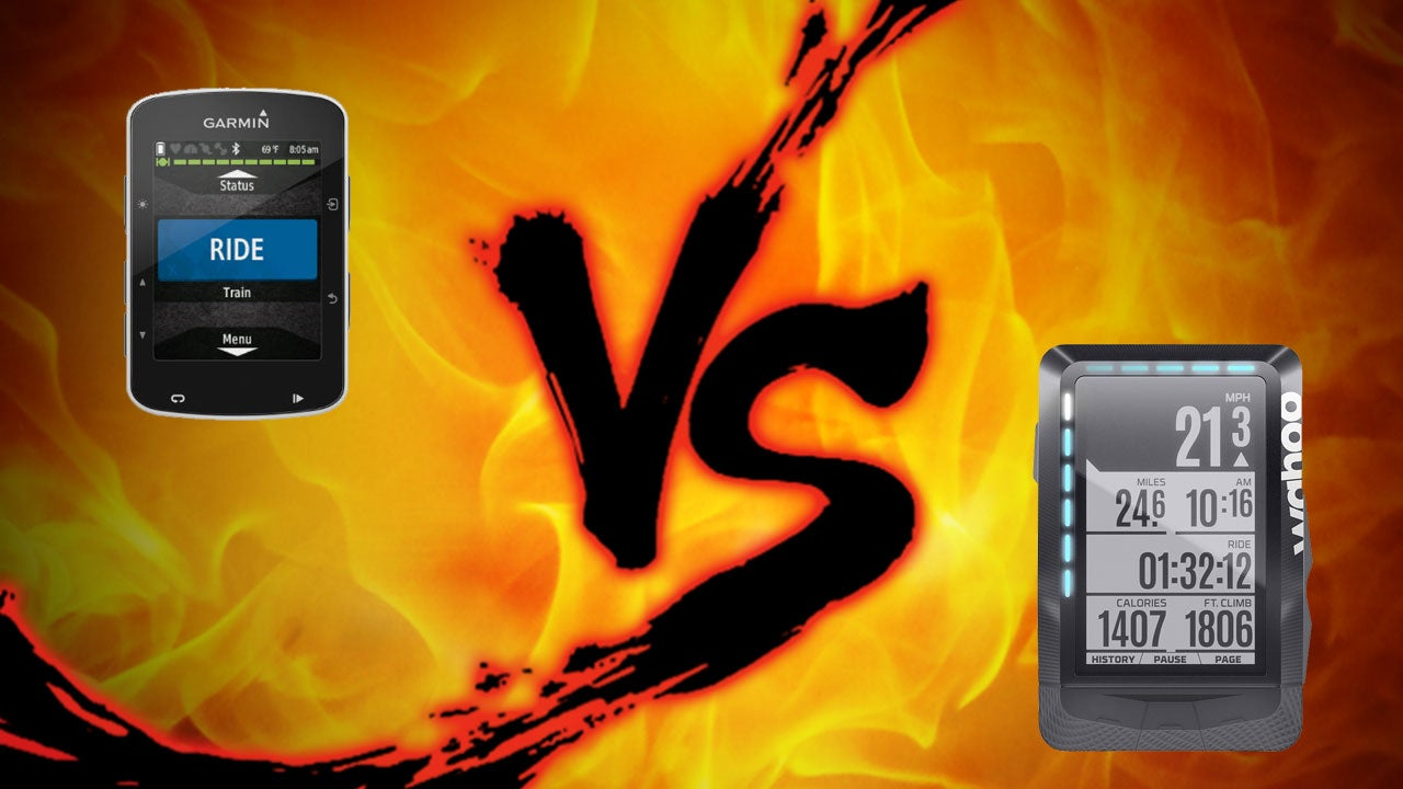 Cycling Computer Showdown: Garmin Edge 520 vs. Wahoo Elemnt