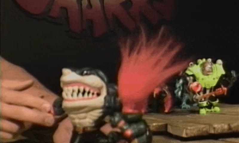 In 1994, Vin Diesel Was Selling Street Sharks At Toy Fair