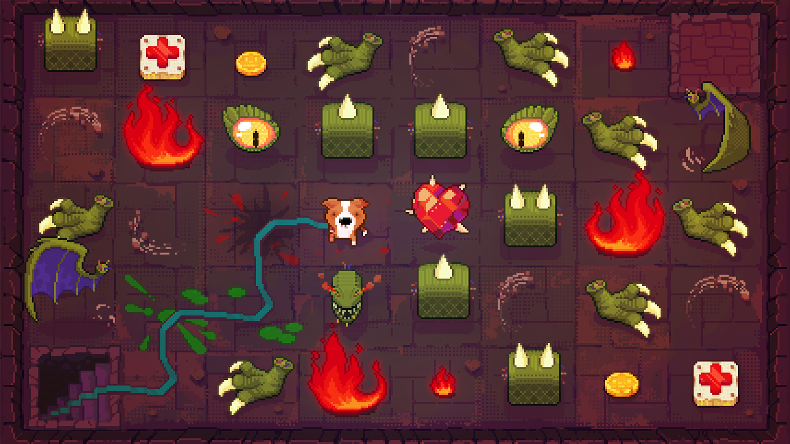 A puzzle game about a dungeon delving dog kotaku australia its possible to lock yourself off from crucial pathways and enemies which makes smart movement essential if you make mistakes you can rewind solutioingenieria Images