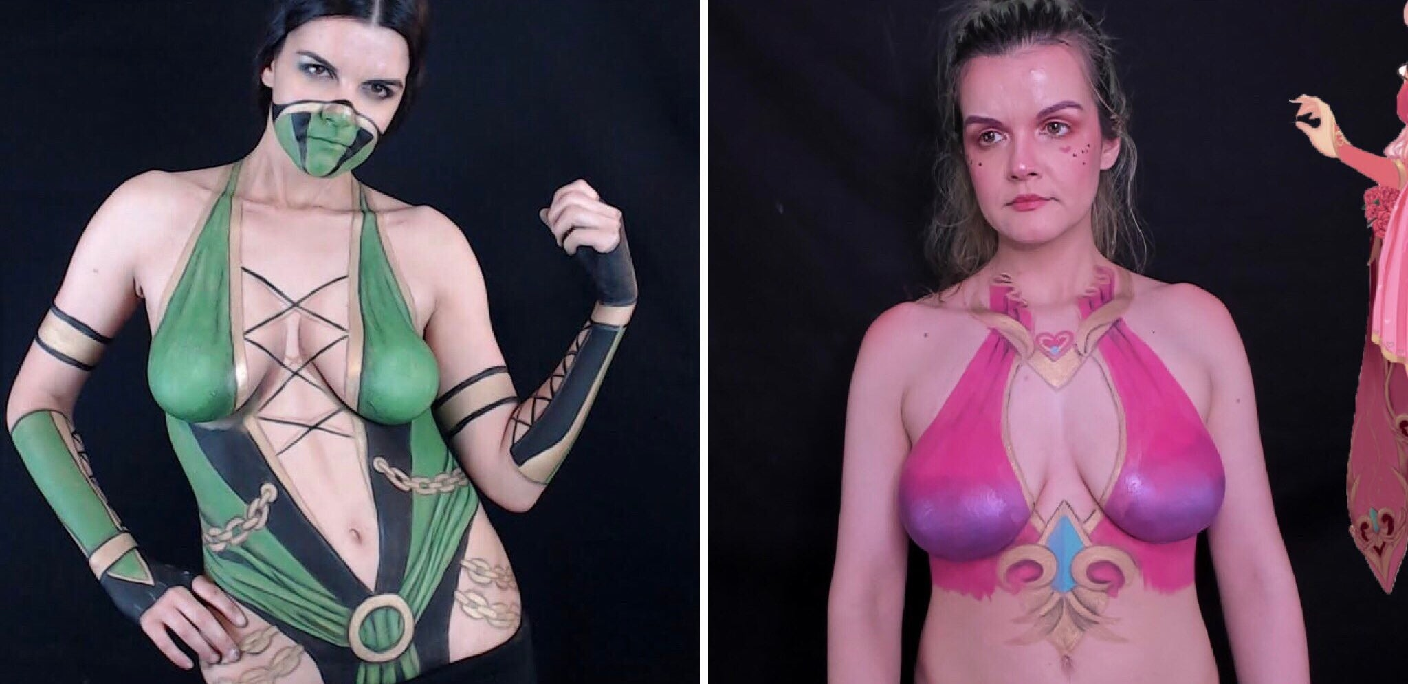 Body Painting Streamer Banned For Nudity Despite Efforts To Stay Within Twitch S Rules