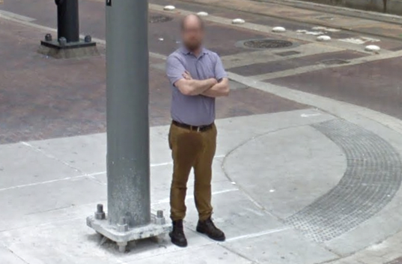 Google Car Captures Guy's Awful Day At Work For All Eternity