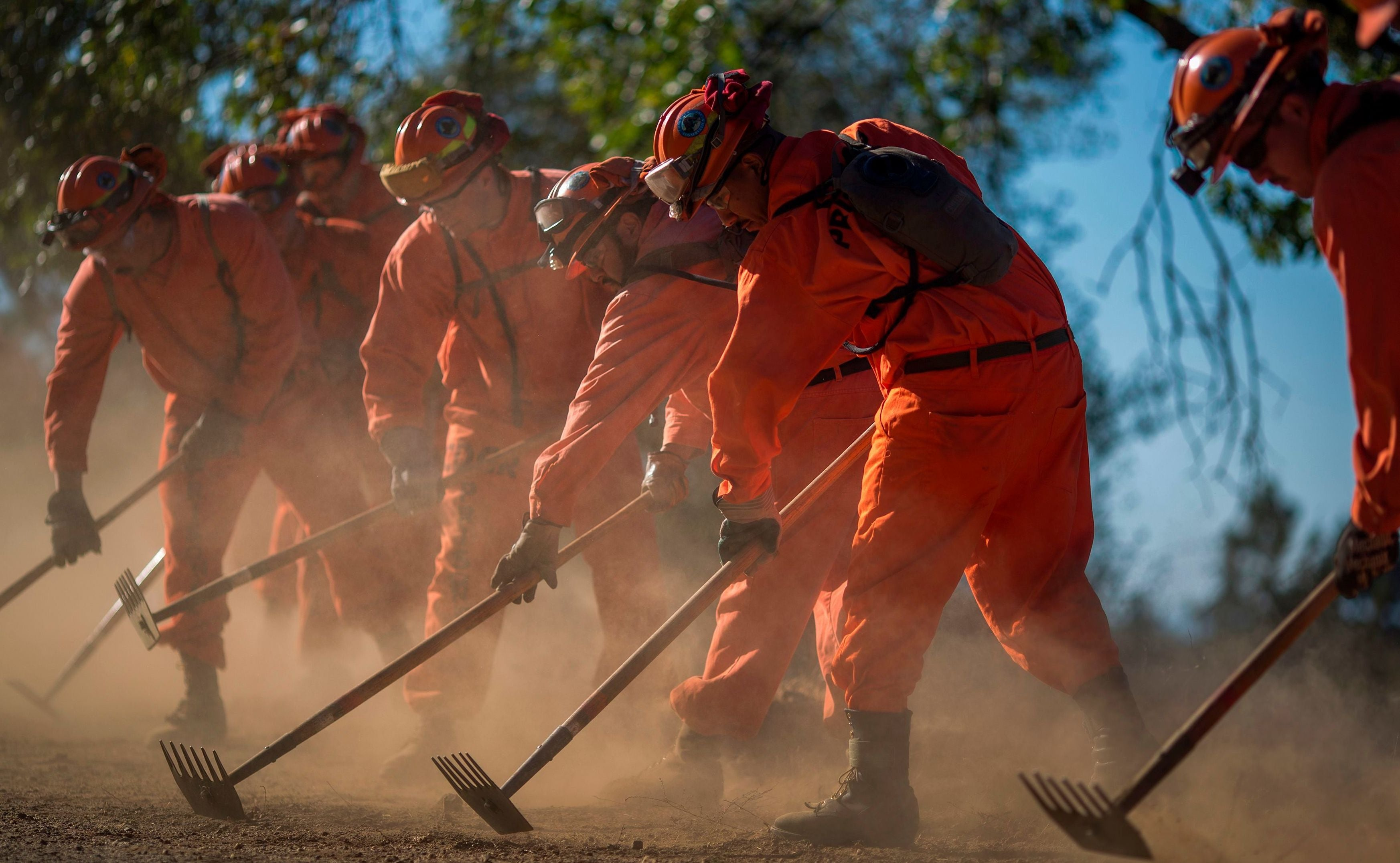 Prison Reform To Blame For Fire Fighting Labour Shortage, Says California