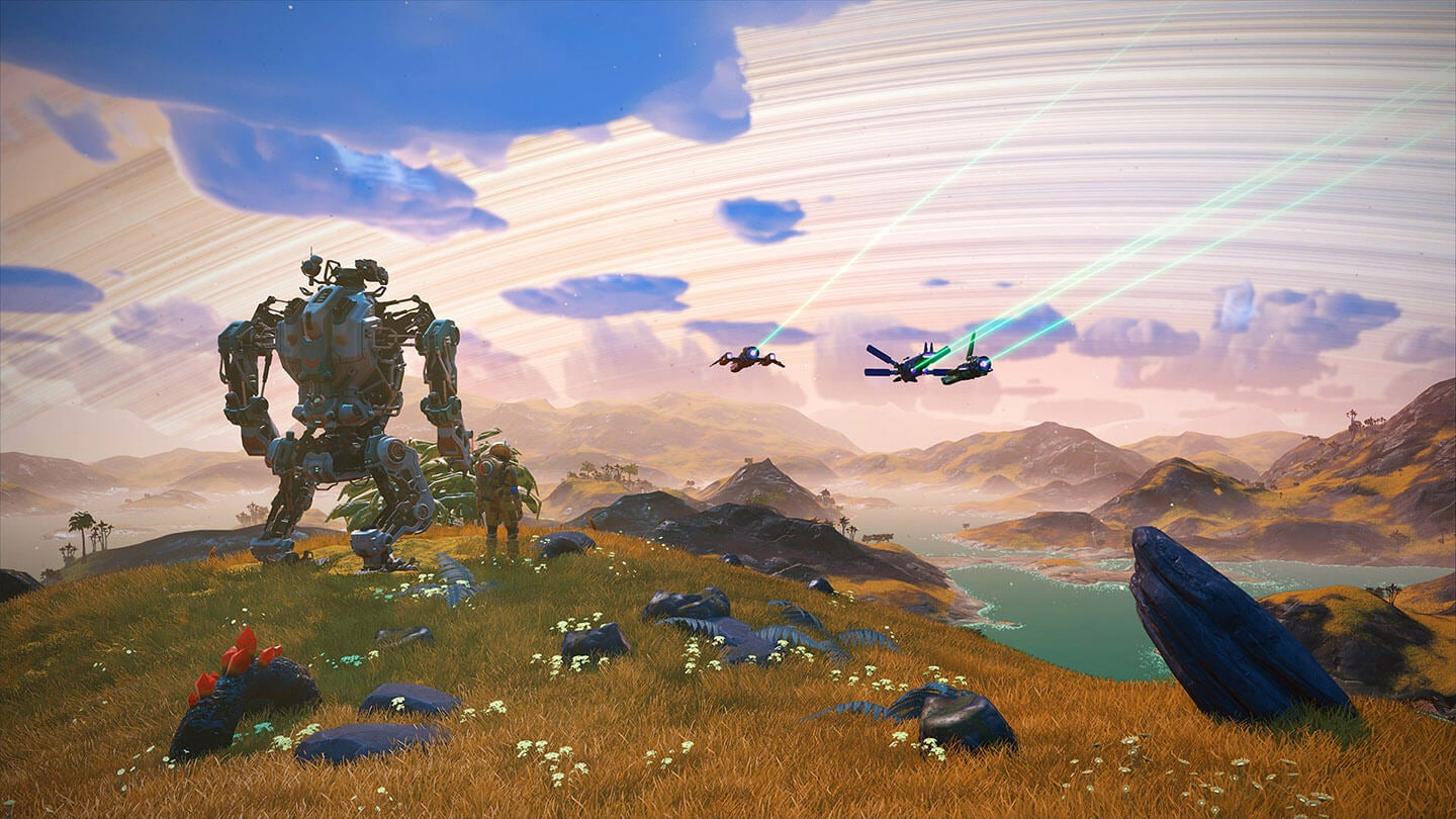 No Man's Sky Has Freaking Mechs Now