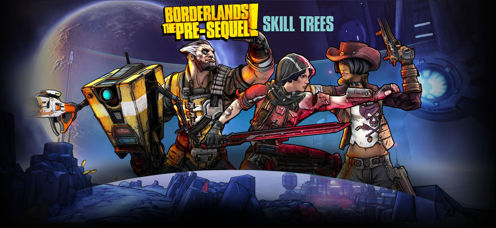 You Can Now Play With The Skill Trees Of Borderlands: The Pre-Sequel