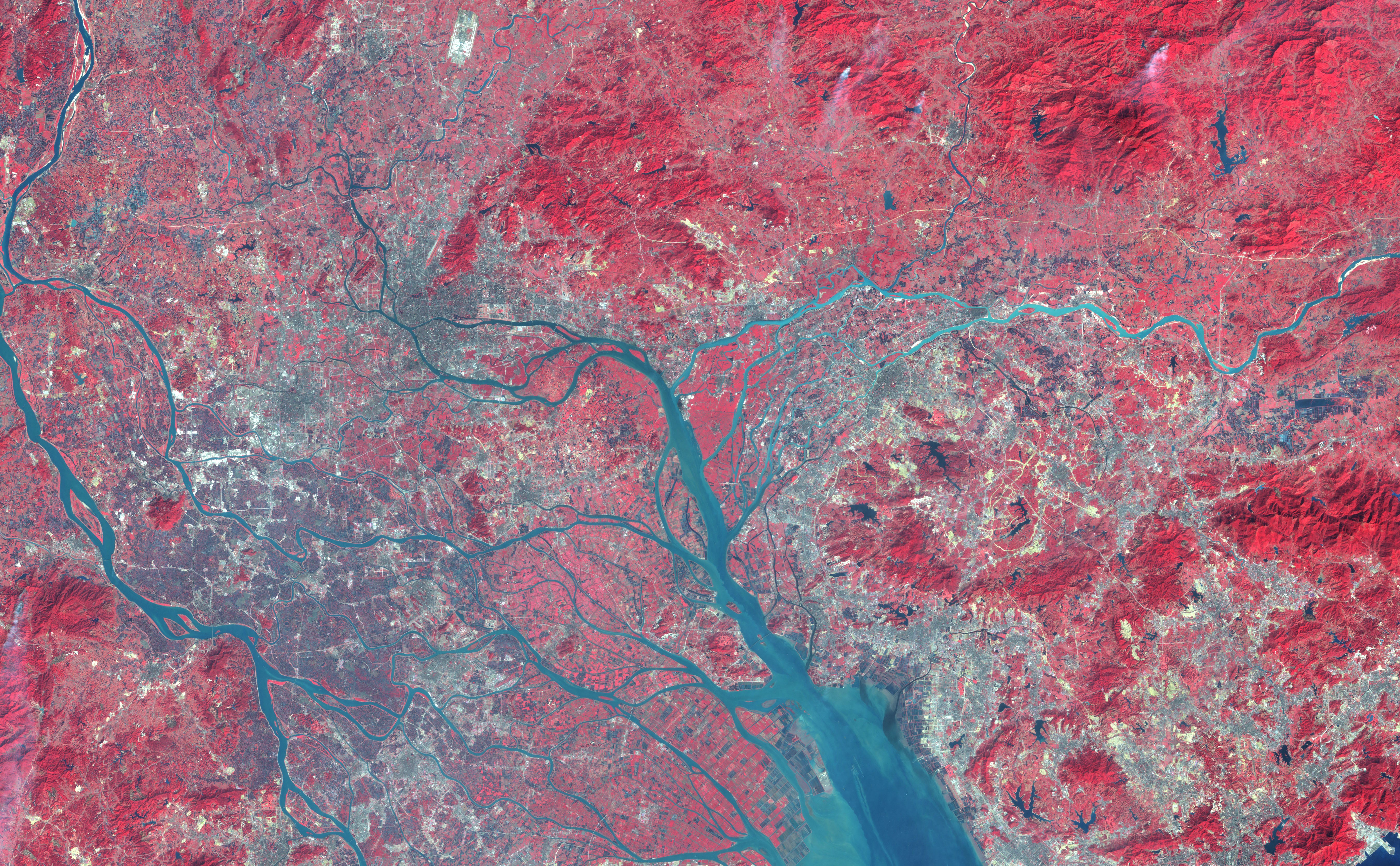 Megacities Are Growing So Fast We Need Satellites To Study Them